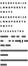 minecrafter the perfect font for all minecraft party print outs