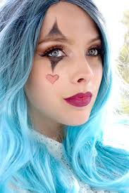 how to do halloween makeup halloween costume idea glam clown makeup easy halloween makeup