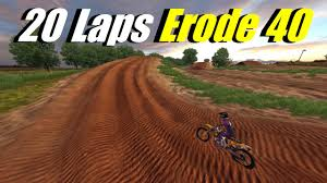 james stewart news motocross mx simulator 20 laps with erode 40