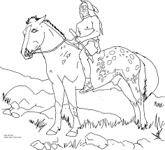 native american animal coloring page free download