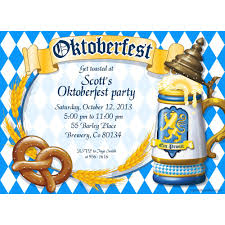 Sample Party Invitation Card Wonderful Oktoberfest Party Invitation Sample Design Oktober
