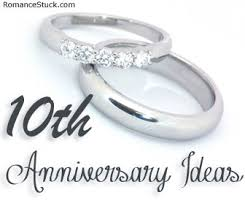 tenth anniversary ideas a complete list of traditional 10th anniversary gifts and modern