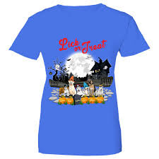 T Shirt Halloween Lick Or Treat T Shirt For Halloween For Dog Lovers