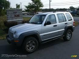silver jeep liberty interior 2002 jeep liberty sport 4x4 in bright silver metallic 125179