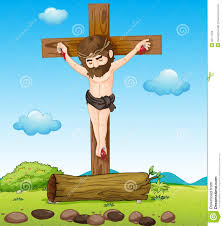 jesus christ at the cross royalty free stock image image 32711236