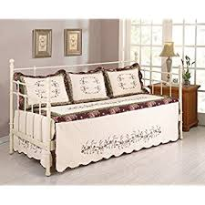 amazon com modern heirloom collection heather daybed cover home