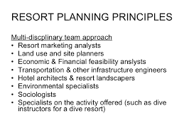 What Do Landscapers Do by Planning Resort Planning