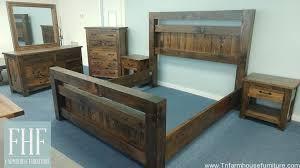 timber frame rustic bedroom group kingsize farmhouse furniture