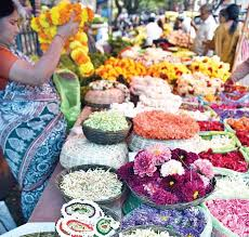 flowers and fruits prices of flowers fruits soar ahead of festival the new indian