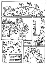 free coloring pages for christmas santa christmas coloring pages