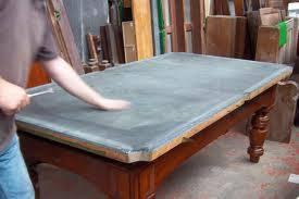 Slate Bed Restoration Slate Bed Antique Snooker Table Brown U0027s Antiques