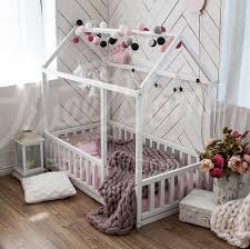 Full Double Bed Children Bed Full Double Toddler Bed Baby Toy Room House