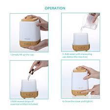 humidificateur de bureau homasy 200ml humidificateur ultrasonique portable purificateur d