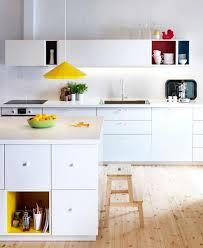 ikea küche metod ikea metod mit farbigen akzenten bild 2 schöner wohnen