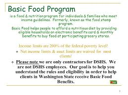 dshs food stamps recipes food