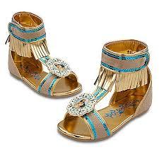 amazon com disney pocahontas shoes for girls toddlers dress up