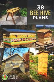 honey bee decorations for your home 38 diy bee hive plans with step by step tutorials free