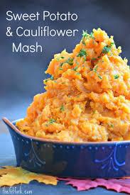 sweet potato cauliflower mash more healthy recipes cauliflower