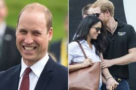 harry and meghan markle prince william u0027s reaction after worker u0027s cheeky hint over harry