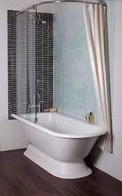 Best Acrylic Bathtubs Stand Alone Tub Bathroom With Sidemount Shower Curtain Rod