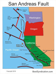san francisco fault map 62 best 6th grade plate tectonics images on plate