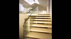 floating glass stair designs cantilever stairs youtube