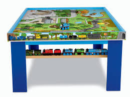 thomas the train wooden table thomas and friends wooden railway play table 98804