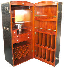 Trunk Bar Cabinet Surcouf Steamer Trunk Bar Cabinet Fanti
