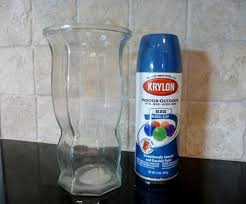 How To Paint A Vase The 25 Best Spray Paint Vases Ideas On Pinterest Spray Painted