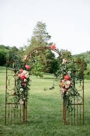Wedding Arbor Ideas 25 Beautiful Wedding Floral Arches To Get Inspired Weddingomania