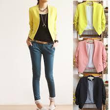 casual blazer womens luxury no button slim fit casual suits blazer jacket