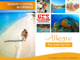 Cozumel Mexico Map by Re Opening Of Allegro Cozumel Dec 19th Pro Dive Mexico