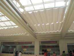 buy fcs folding skylight roof blinds for indoor sunshade price