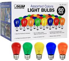 Colored Outdoor Light Bulbs Feit Electric Cominhkpr92889 Feit Electric Colors Light Bulbs 60