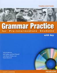 grammar practice for pre intermediate students with key with cd