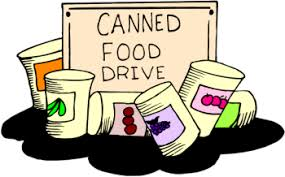 canned food drive clip 6492