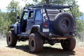 navy blue jeep wrangler 2 door gobi roof rack and soft top jkowners com jeep wrangler jk forum