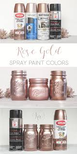 rose gold spray paint ka styles