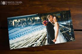 mount photo album gray leather flush mount wedding album finao wedding album