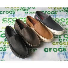 Jual Leather jual sandal sepatu crocs 盪 jual crocs tideline pria jual