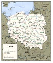 Map Of Germany And Poland by Poland Pol00 Jpg