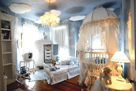 beautiful baby nursery room with glass windows horizontal luxury