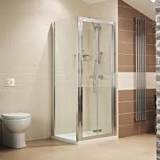 Shower Bifold Door Bath Lumin8 Bi Fold Door Shower Enclosure Showers