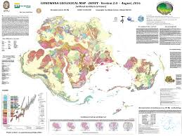 Geological Map Igcp 628 Gondwana Project