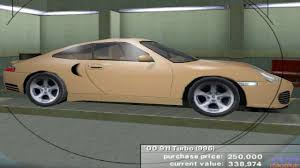 Porsche 911 Evolution - need for speed porsche unleashed porsche 911 turbo 996 2000