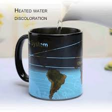 Heated Coffee Mug by Aliexpress Com Buy 2017 Unique Solar System World Map Hot Water