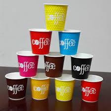 bicchieri di carta personalizzati 8 once flexo diamante doppia parete di carta tazze di caff礙