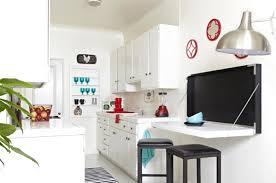 table de cuisine blanche la table de cuisine pliante 50 idées pour sauver d espace