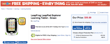 amazon black friday 2011 leap pad black friday 2011 deals amazon vs toys r us discounts