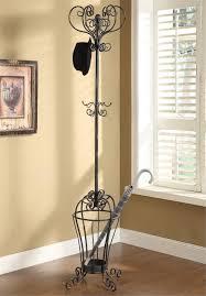 wonderful entryway coat rack umbrella stand steel material